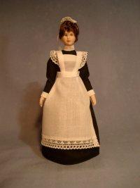 Victorian Kitchen Parlour Maid Caroline